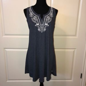 Lucky Brand Embroidered Sleeveless Dress NWOT